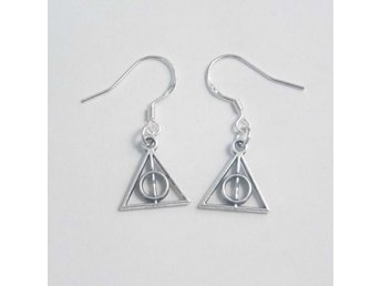 Harry Potter Deathly Hallow örhängen /  earrings