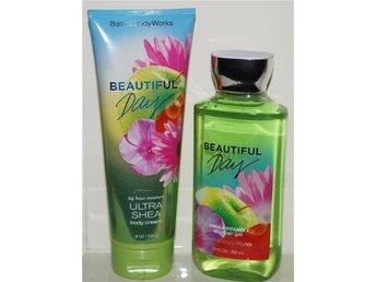 BEAUTIFUL DAY Bath & Body Works Body Cream 226ml & Shower Gel 295ml härlig doft - Torsås - BEAUTIFUL DAY Bath & Body Works Body Cream 226ml & Shower Gel 295ml härlig doft - Torsås