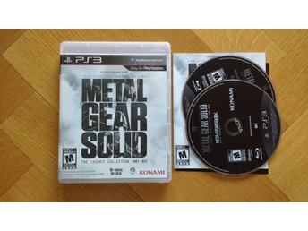 PlayStation 3/PS3: Metal Gear Solid: The Legacy Collection