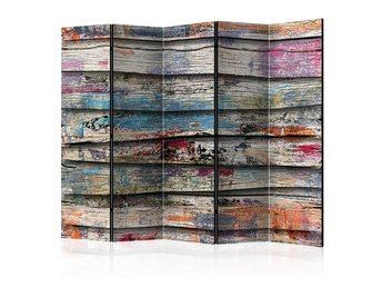 Rumsavdelare - Colourful Wood II Room Dividers 225x172