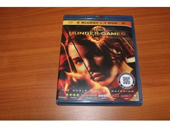 Blu-ray + DVD: The hunger games (Jennifer Lawrence) (3 discs)