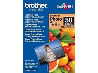 Papper Brother BP71GP50 50 ark, 10x15cm, Glossy