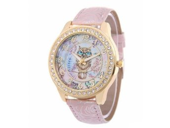 Cute Women Owl Leather Watches Fashion