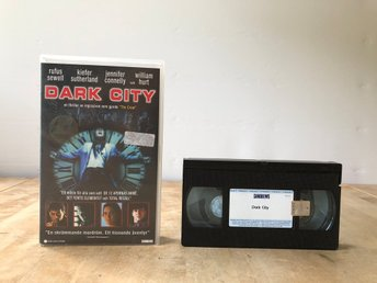 Dark City - FD hyrfilm - VHS