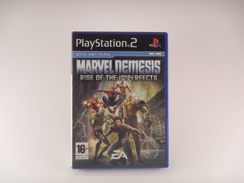 Playstation 2 / Ps2  --  Marvel Nemesis Rise of the Imperfects  --  PAL