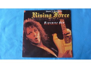 "LP YNGWIE MALMSTEEN´S RISING FORCE - ""MARCHING OUT"" - 1985"