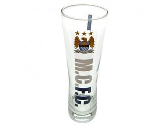 Manchester City Ölglas Högt Wordmark 4-pack