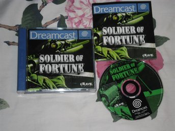 SEGA Dreamcast: Soldier of Fortune