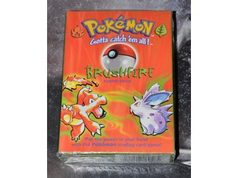 Pokemon BrushFire THEME DECK med Holocard! Förseglad / Sealed