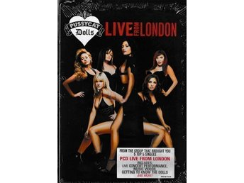 "Pussycat Dolls "" Live From London ""  DVD , Ny inplastad"