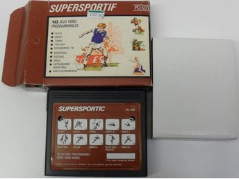 Spelkassett/cartridge, PC-501 - Supersportic/Supersportif