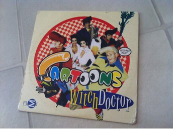CD singel: Cartoons - Witch Doctor