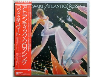 ROD STEWART 'Atlantic Crossing' 1975 Japan LP w/OBI