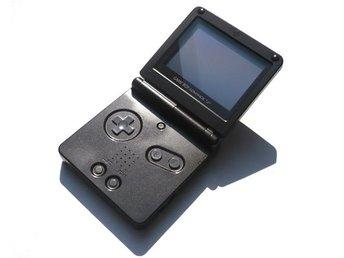 Gameboy Advance SP Basenhet Svart - Gameboy Advance - Varberg - Gameboy Advance SP Basenhet Svart - Gameboy Advance - Varberg
