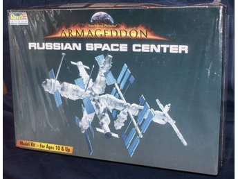 Armageddon Russian Space Center  Revell Monogram Byggsats