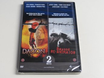 DAGON / BEYOND RE-ANIMATOR (DVD) Ny inplastad