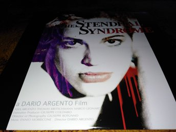 Stendhals syndrome (1996) Japan  Laser Disc