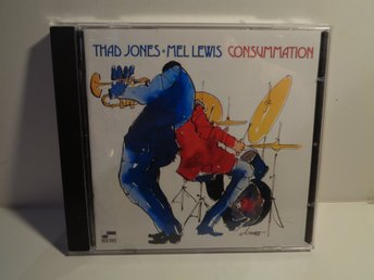 THAD JONES - MEL LEWIS CONSUMMATION - CD fr samlare / Kvalite