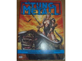 TUNG METALL NR 6 1988 Fint skick