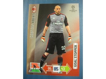 GOAL STOPPER -  CHRISTIAN ABBIATI -  MILAN - CHAMPIONS LEAGUE 2012-2013