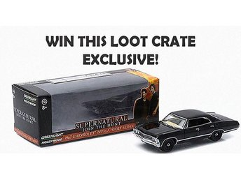 Super Natural bil från Loot crate! Diecast