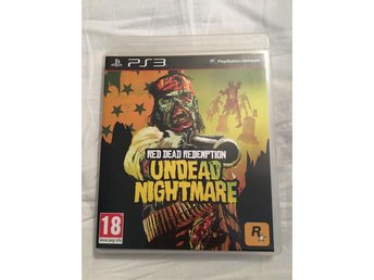 PS3 Red Dead Redemption - Undead Nightmare - Som ny!