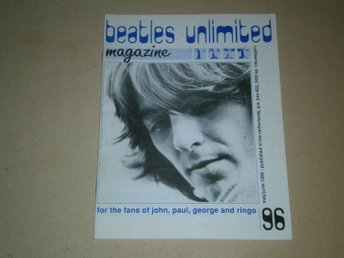 Beatles Unlimited #96 (Maj / Juni 1991) - Fint Skick!