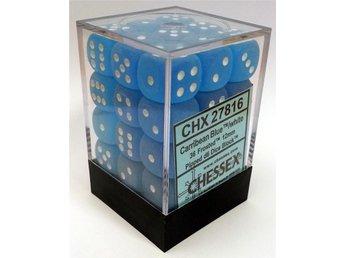 Tärningsset D6 - Frosted Carribean Blue (CHX27816) - Brädspel - Varberg - Tärningsset D6 - Frosted Carribean Blue (CHX27816) - Brädspel - Varberg