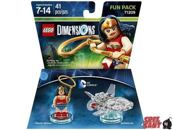 Lego Dimensions DC Comics Wonder Woman Fun Pack 71209 - Norrtälje - Lego Dimensions DC Comics Wonder Woman Fun Pack 71209 - Norrtälje