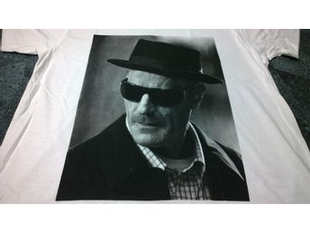 T-Shirt. Vit. Breaking Bad. Heisenberg. Large