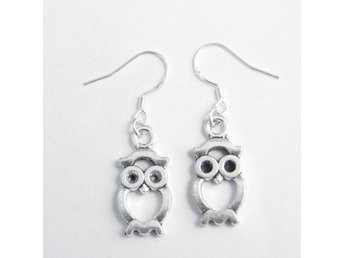 Uggla örhängen / Owl earrings
