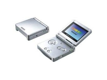 Gameboy Advance SP Basenhet Silver  - Gameboy Advance