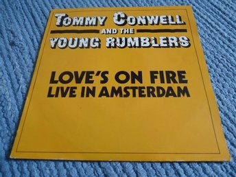 Promotion singel-Tommy Conwell and the Young Rumblers 1989-Ospelad