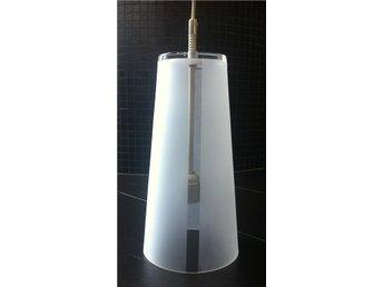 Pendel - glas frostat, klart vertikalt band - Torekov - Pendel - glas frostat, klart vertikalt band - Torekov