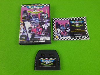 Micro Machines 2 Turbo Tournament MED EXTRA KONTROLL UTTAG Sega Megadrive