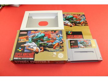 STREET FIGHTER 2 II till Super Nintendo SNES