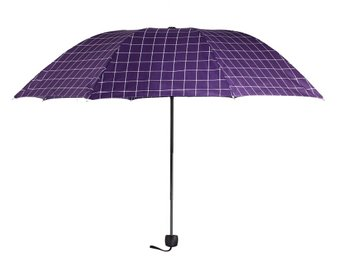 Paraply Window Pane Check Manual Open Umbrella