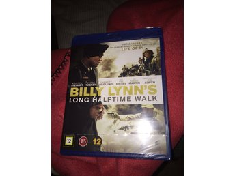 Blu-ray : Billy lynns long halftime walk  (inplastad )