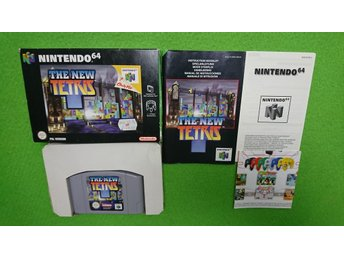 The New Tetris KOMPLETT Nintendo 64 N64 Nintendo 64