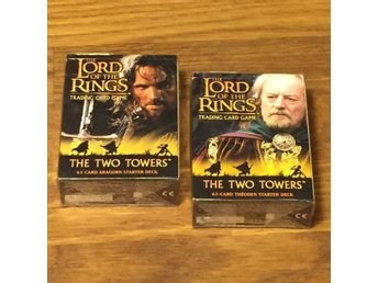 LOTR TCG 2 st THE TWO TOWERS Starters (Sagan om Ringen)