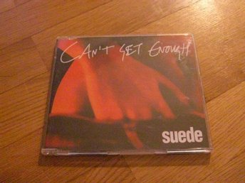 SUEDE Can't get enough cd singel