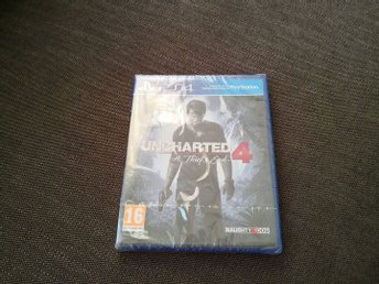 Uncharted 4: A Thiefs End PS4 Nytt