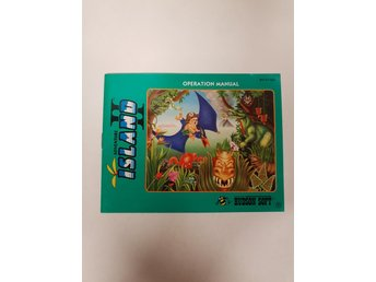 Adventure Island II - Manual NES NINTENDO - USA