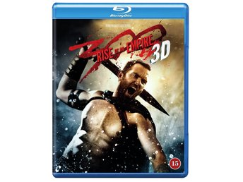 300 RISE OF AN EMPIRE. NY OCH INPLASTAD PÅ BLU-RAY 3D + BLU-RAY + DC