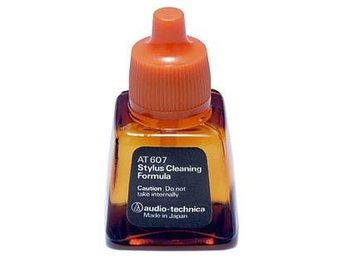 Rengöringsvätska Audiotechnika AT607. Cleaning Liquid for stylus, needle.