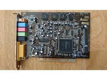 2001 Creative Labs Sound Blaster Audigy Model SB0160