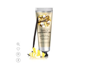 The Body shop vanilla marshmallow hand cream handkräm 30 ml NY
