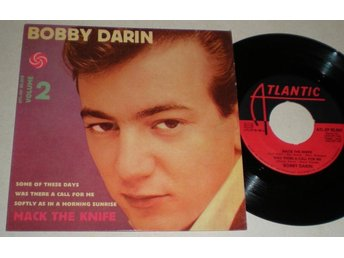 Bobby Darin EP/PS Mack the knife 1959