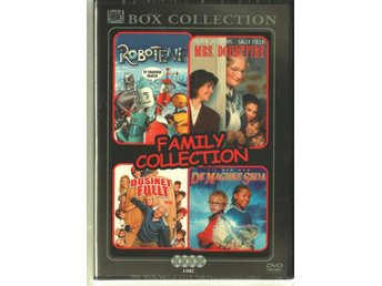 Family Collection (4st filmer) - DVD - Nytt