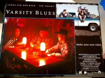 VARSITY BLUES James Van Der Beek,Jon Voight ÅR 1999 FOTO   1
